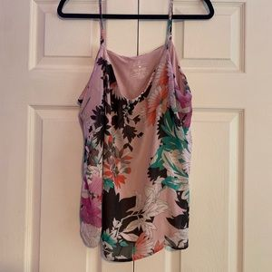 Floral New York and Co tank